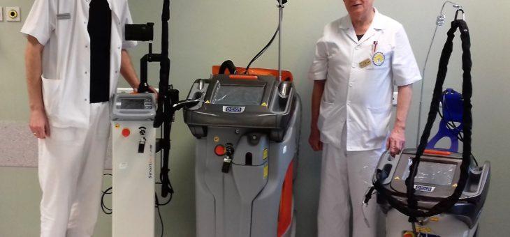 Rozpoczęliśmy leczenie naczyniaków i zapaleń błon śluzowych przy użyciu nowoczesnych laserów