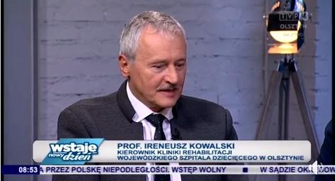 O ciężkich tornistrach w TVP Olsztyn