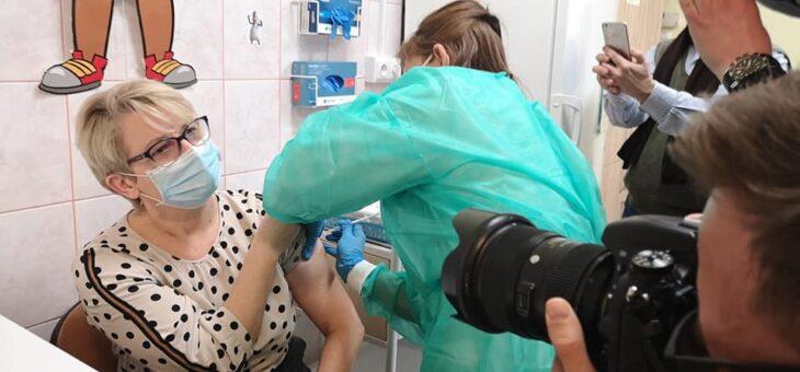 Rozpoczęliśmy szczepienia pracowników przeciw COVID-19